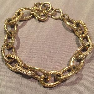 Stella & Dot Pave Chain Bracelet